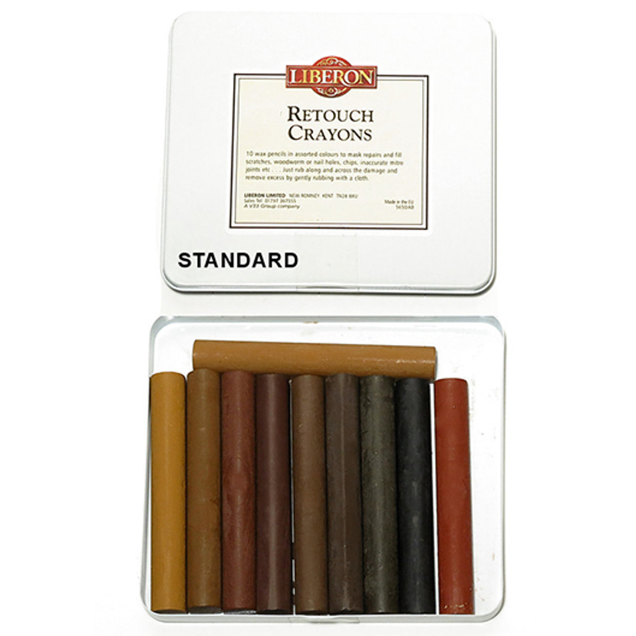 Liberon Retouch Crayons Kitchen - Tin of 10