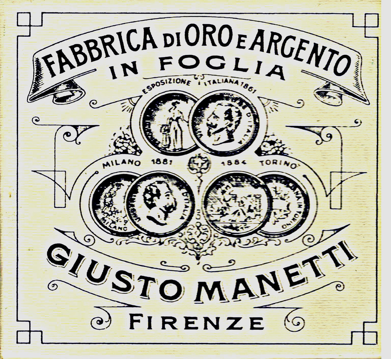 Giusto Manetti Battiloro Gold Leaf Manufacturers manetti genuine gold and precious metal leaf