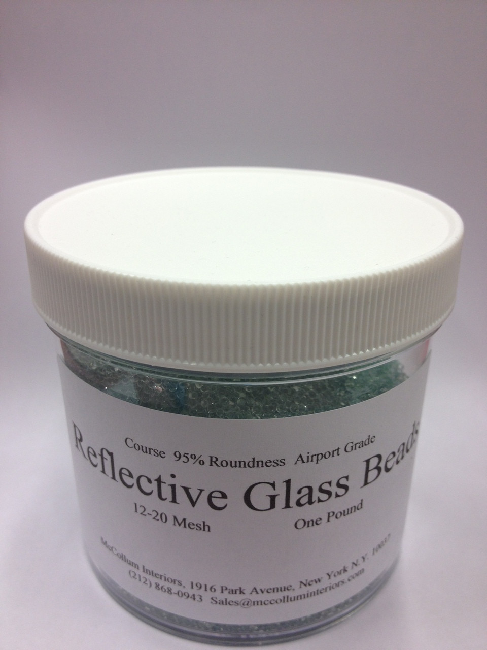 Reflective Glass Beads for Surface Effect