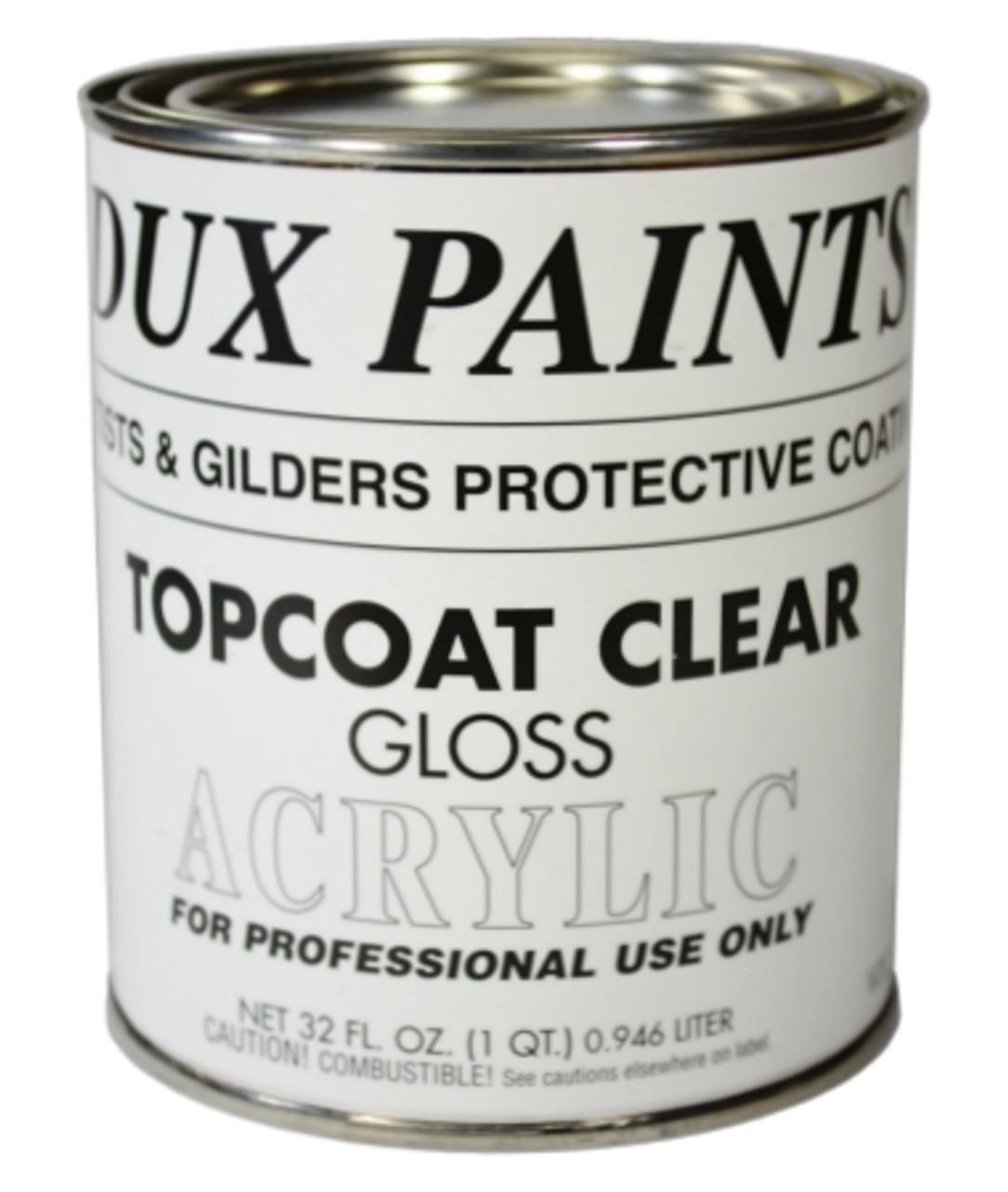 DUX Topcoat Clear Gloss, One Quart