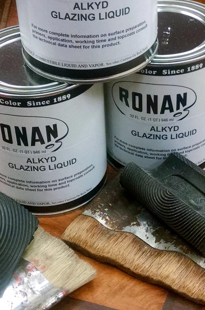 Ronan Alkyd Glazing Liquid, Quarts