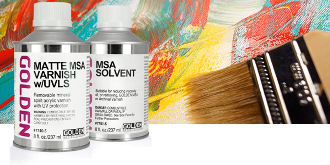 Golden Artist Colors MSA Varnish w/ UVLS