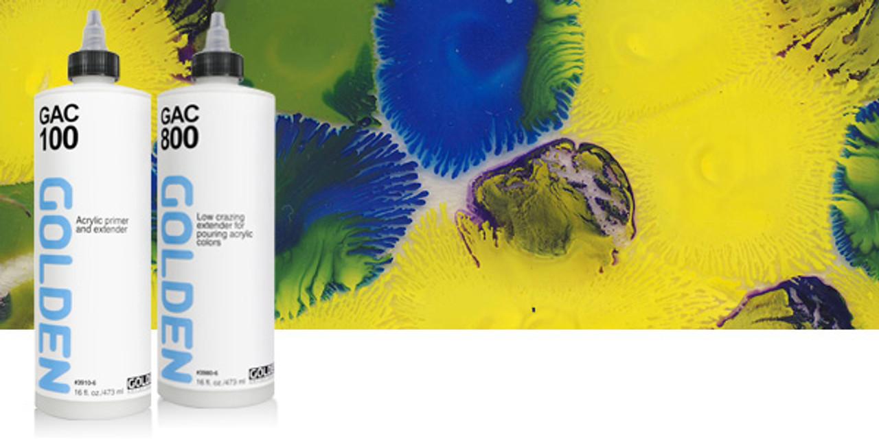 Golden GAC 500 Gloss Extender for Fluid Acrylic Colors