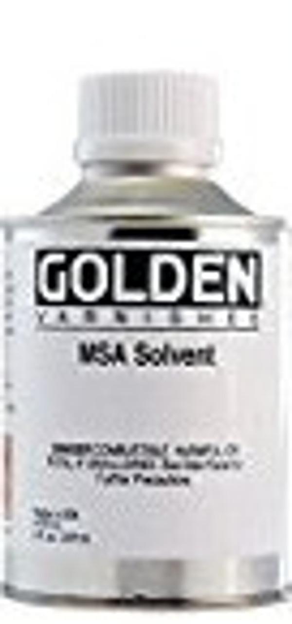 Golden Artist Colors MSA Solvent - 8 Ounce