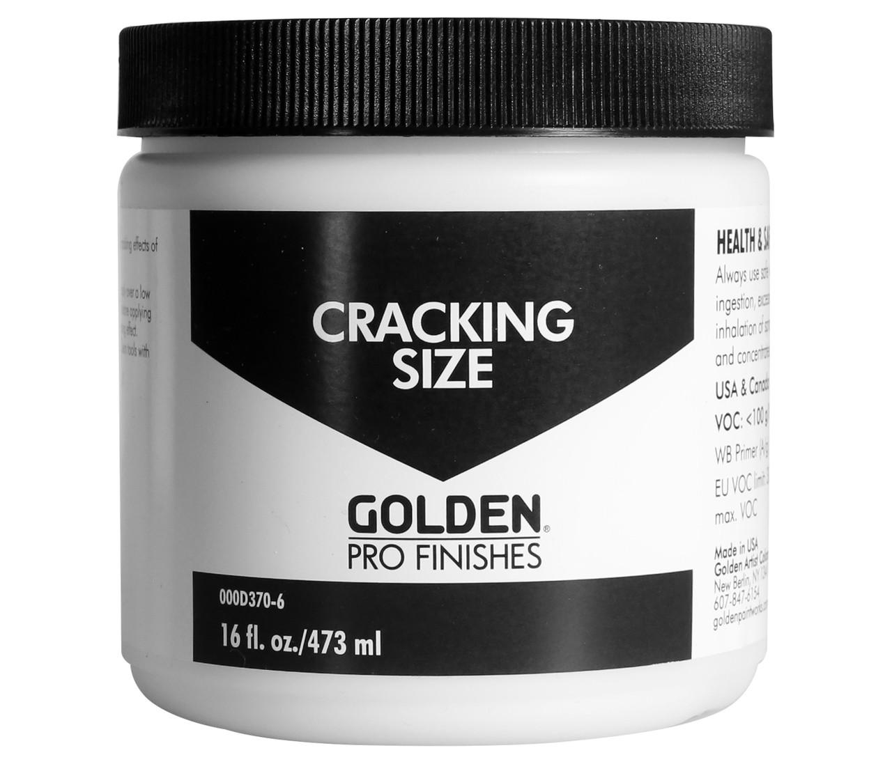 Golden Pro Finish Cracking Size