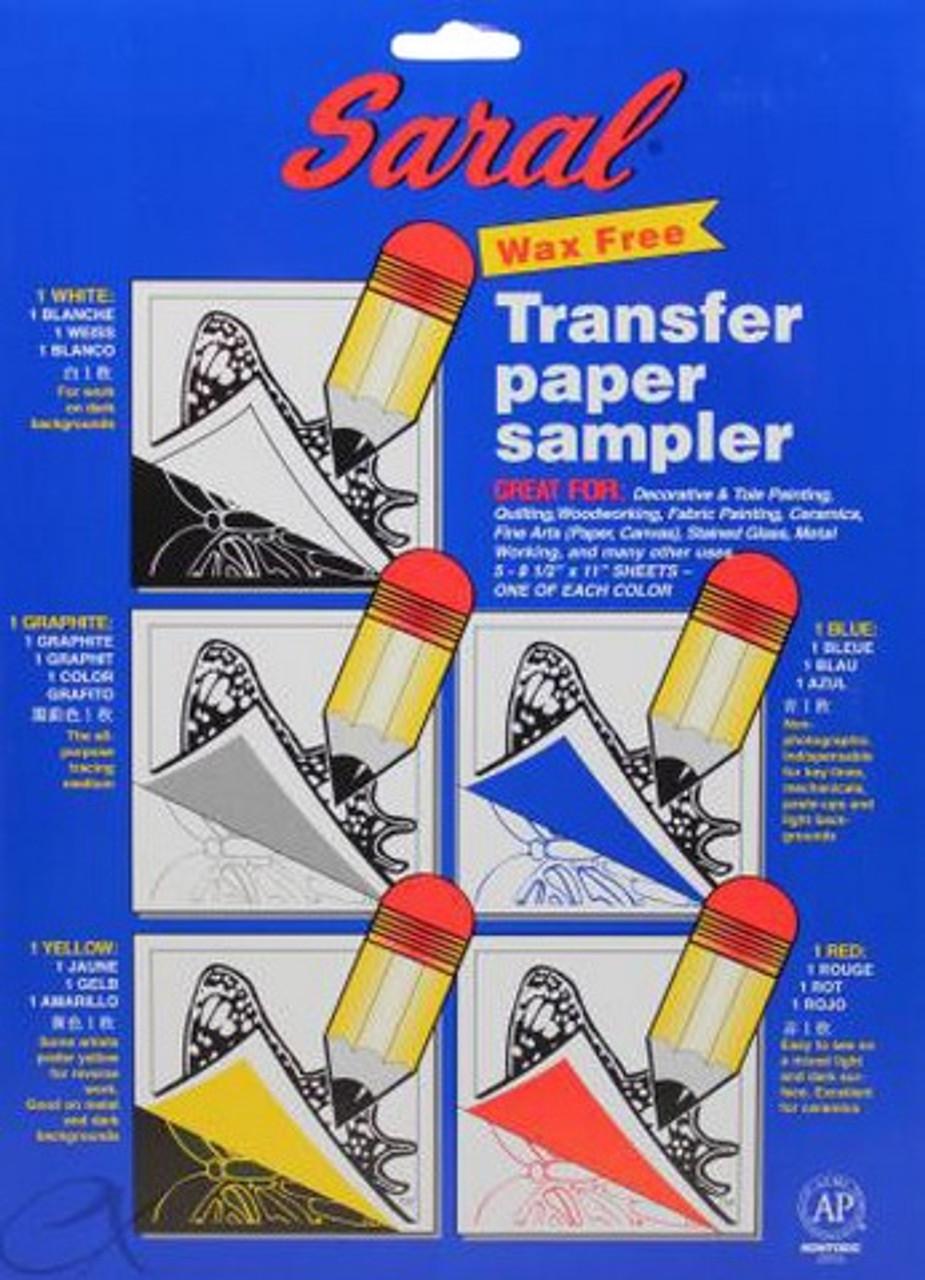 Saral Transfer Paper Sampler