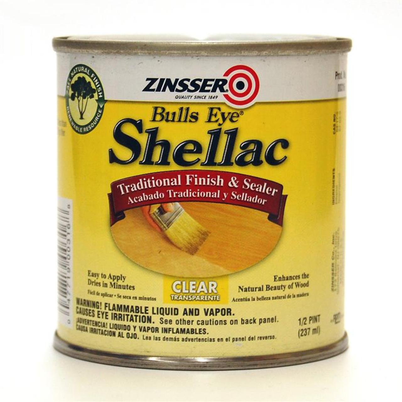 Zinsser Bulls Eye Clear Shellac
