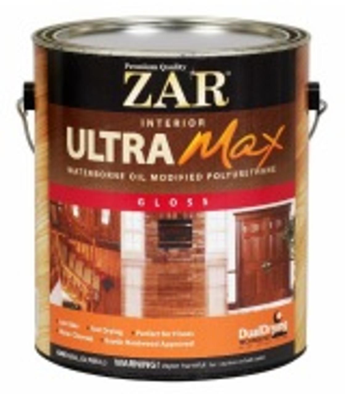 ZAR Ultra Max Waterborne Oil-Modified Polyurethane-Quart