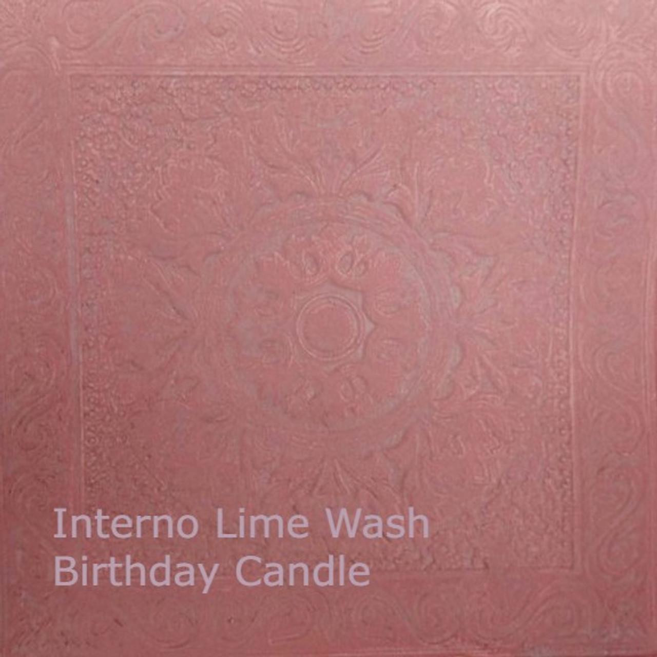 Interno Lime Wash, Birtyhday Candle