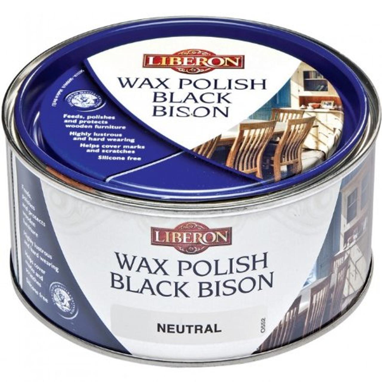 Liberon Black Bison Fine Paste Wax