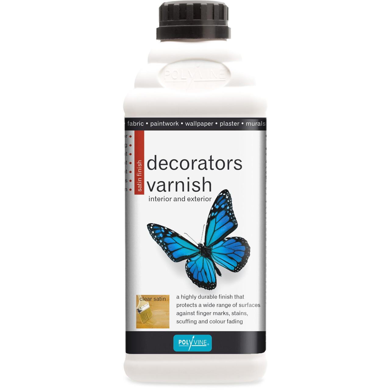 Polyvine Decorators Varnish Satin