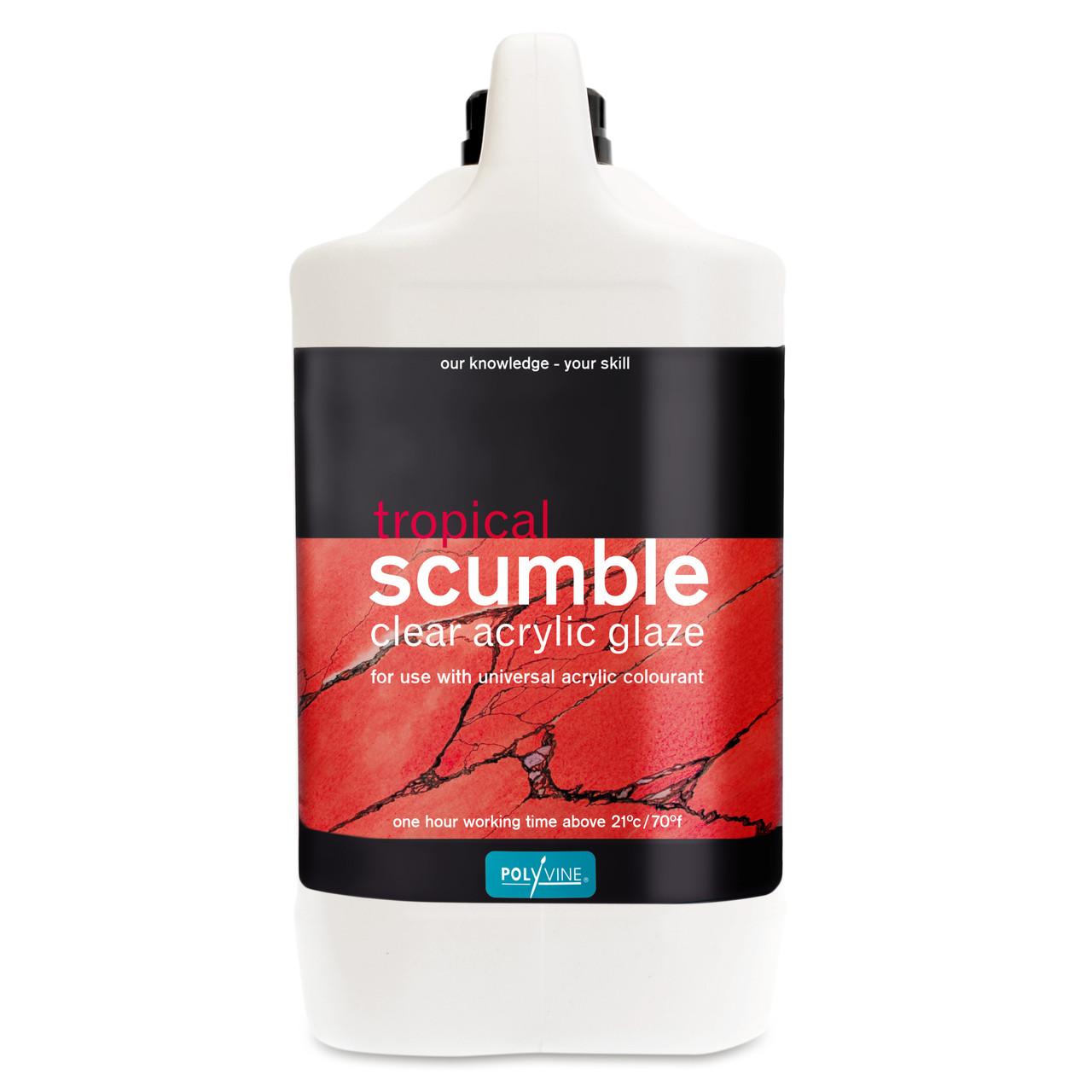Polyvine Tropical Scumble Glaze