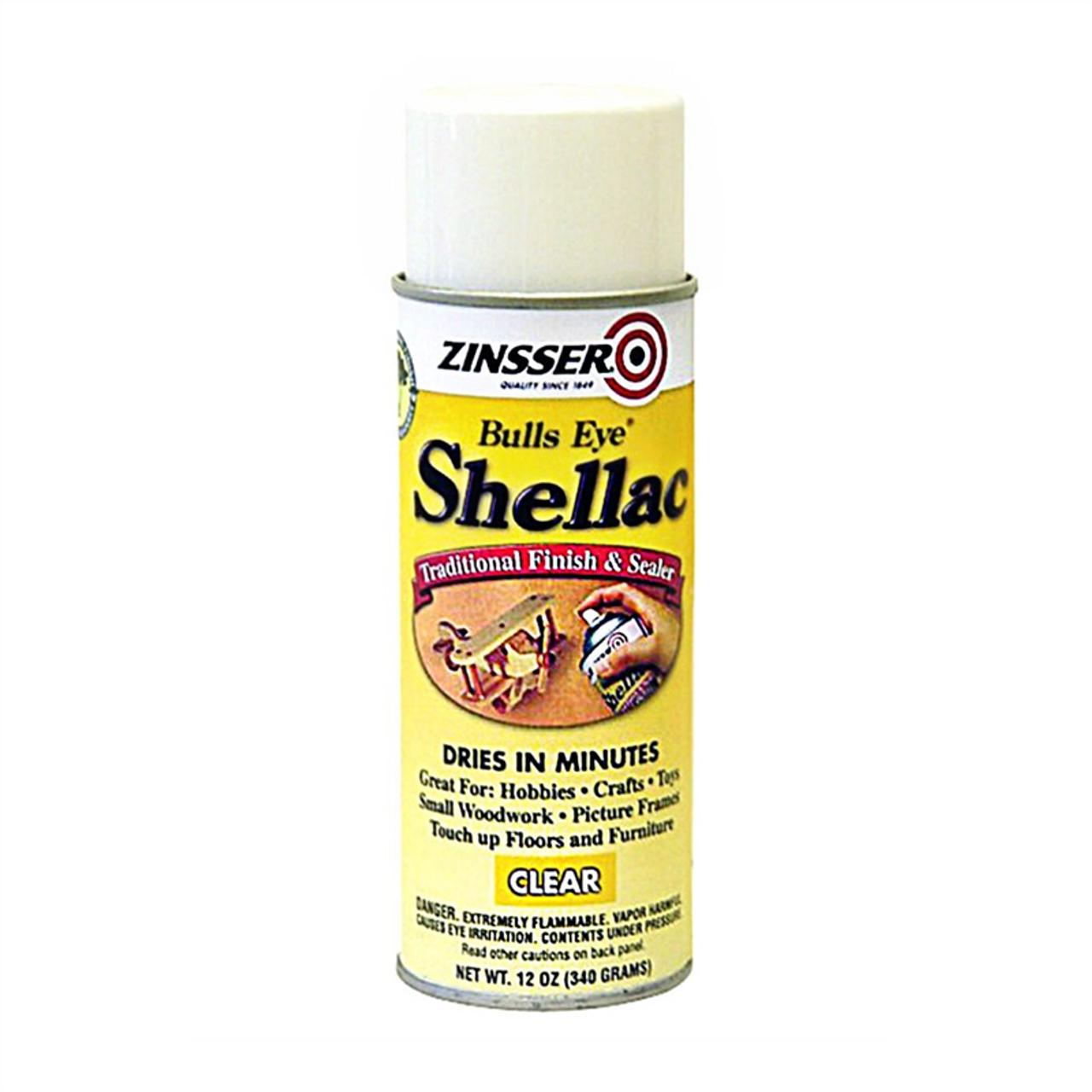 Zinsser Bulls Eye Shellac Clear (Spray)