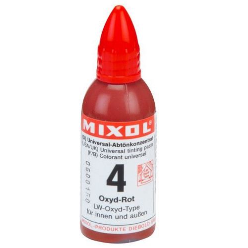 Mixol Universal Tints Oxide Red #04
