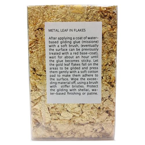 Sepp Leaf Tamise Flakes Imitation Gold 5g