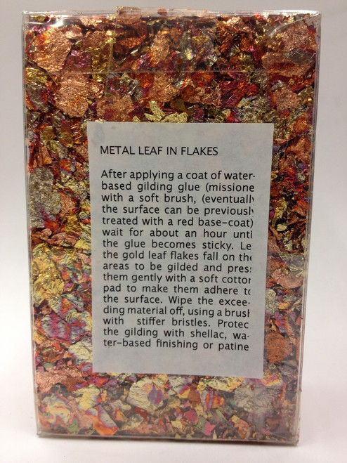 Sepp Leaf Tamise Flakes Variegated Red 5g