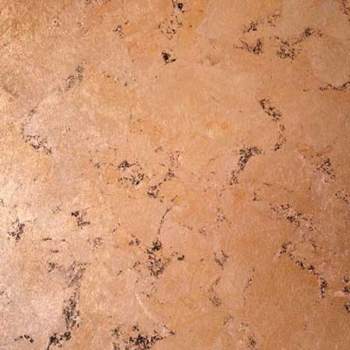 Surface covered with Schaibin Broken Leaf Copper