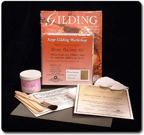 Sepp Gilding Workshop Basic Gilding Kit Composition Gold