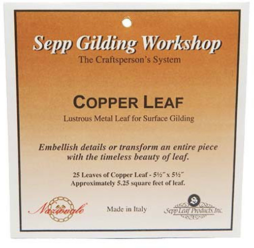 Nazionale Genuine Copper Leaf 5.5-Inch by 5.5-Inch
