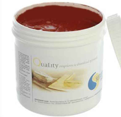 Selhamin Poliment Bole Burnishing Clay for Gilding 1kg - Piedmont Red