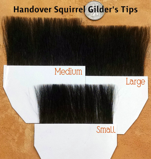 "All 3 sizes are 3.5"" wide with 3 different hair lengths. Starting at about 1 3/8 inches."