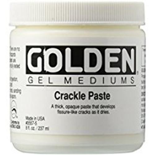 Golden Gel Mediums Crackle Paste 8 oz