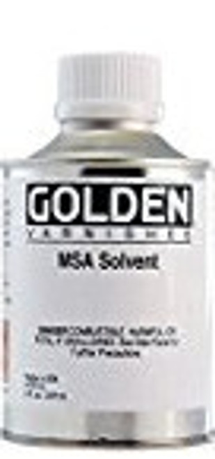 Golden Artist Colors MSA Solvent - 8 Ounce