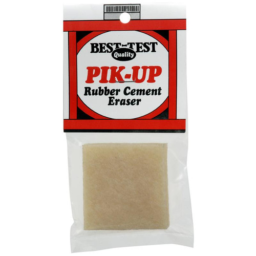 Best-Test Pik-Up Rubber Cement Eraser