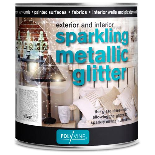 Polyvine Sparkling Metallic Glitter Glaze