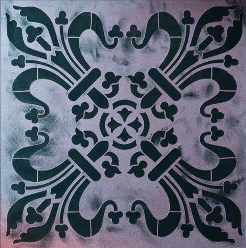 Stencil - Square '98514'