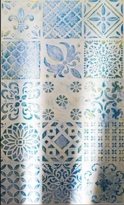 Stencil - Tapestry '98520'
