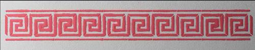 Stencil - Boarder '98502'