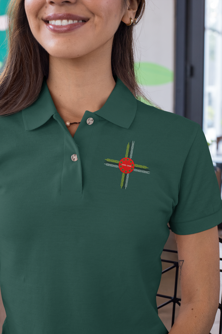 Unisex pride and prejudice - polo tee - bottle green