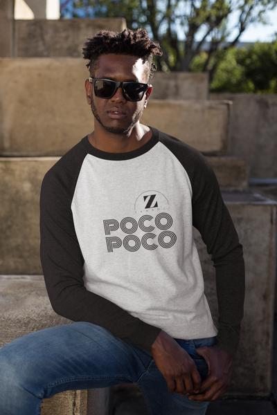 Poco Poco Unisex Baseball Top