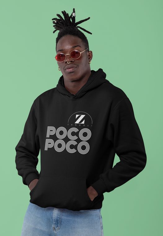 Zandoli.co.uk - poco poco - hoodie - black