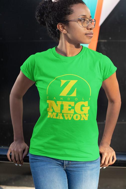 Neg Mawon Women's Tee - Irish Green