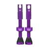 Peaty's Tubeless Valves (MK2) Violet