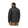 Down Sweater Black Rear Profile