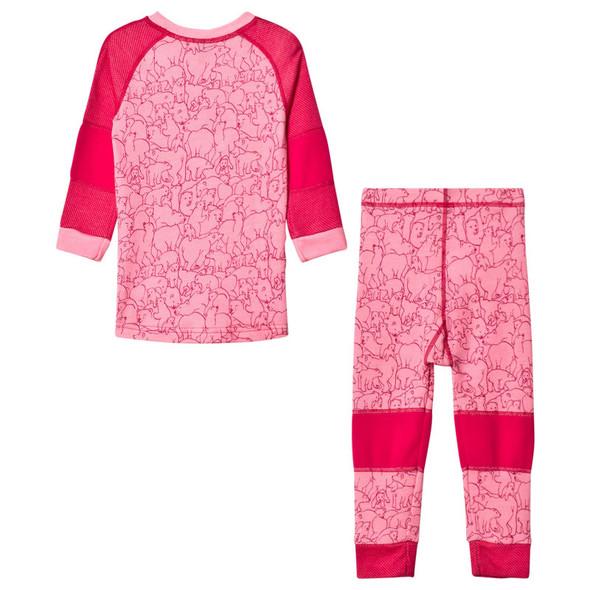 Helly Hansen Kids Lifa Merino Set Bright Rose