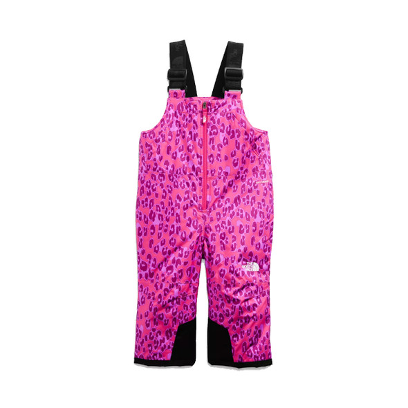 The North Face Toddler Snowquest Insulated Bib 2022 (Cabaret Pink Leopard Small Print)