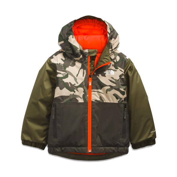 The North Face Toddler Snowquest Insulated Jacket 2022 (Front)