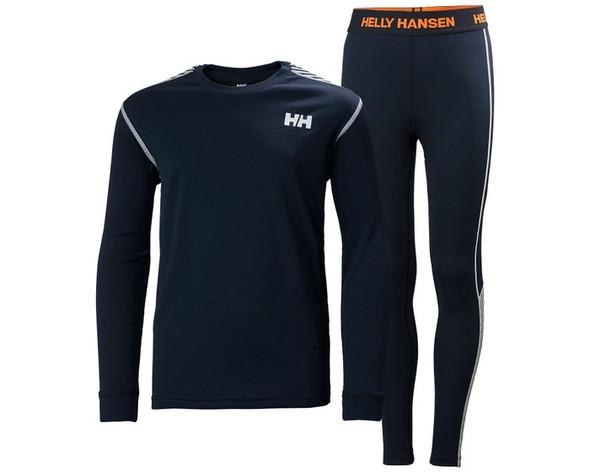 Helly Hansen Jr Lifa Active Set Navy