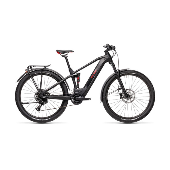 Cube Stereo Hybrid 120 Pro Allroad 500 (black 'n' red)