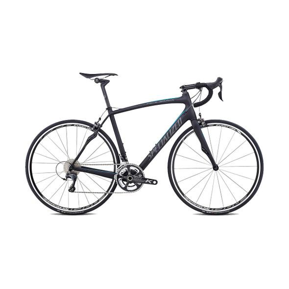 Specialized Roubaix SL4 Expert '14 (Satin Carbon/Neon Blue/Charcoal)