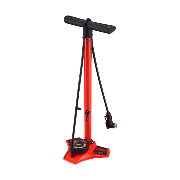 Specialized Air Tool Comp Floor Pump (Rocket Red)