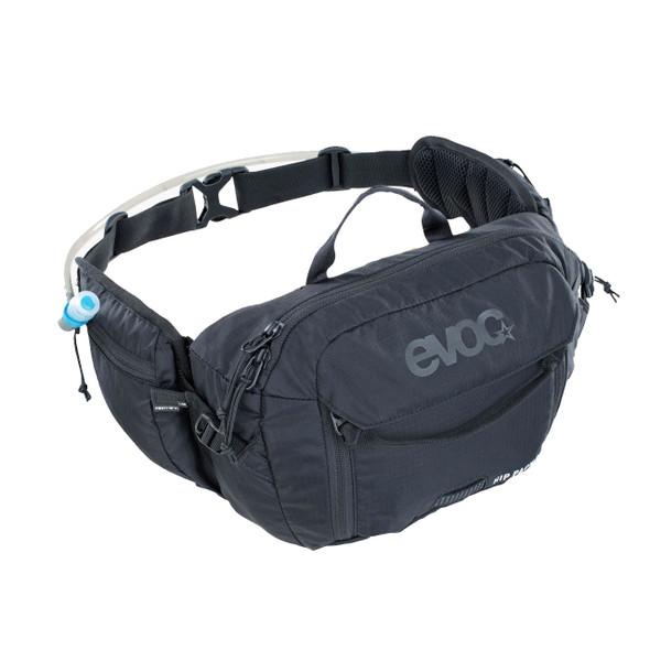 EVOC Hip Pack 3L + 1.5L Hydration Bladder (Black)