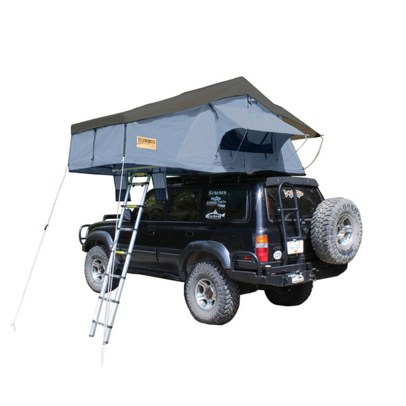Burmis Kootenay Guides Tent (Installed on vehicle, with canopy open)
