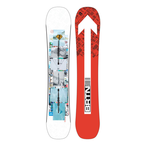 Burton Men's Flight Attendant Snowboard '22