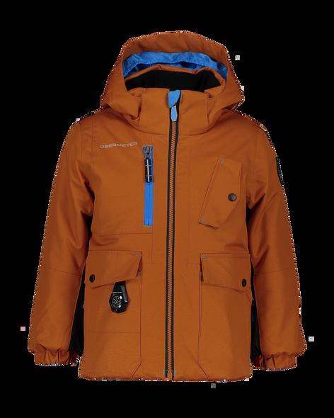 Obermeyer Kid Boys Nebula Jacket Front
