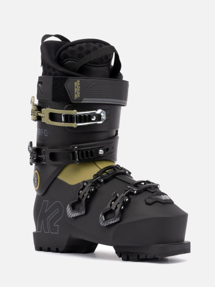 K2 Men's BFC 120 Gripwalk Ski Boots '22 (front/side)